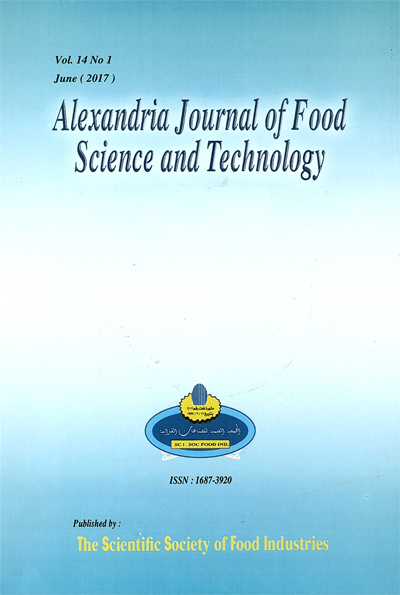 Alexandria Journal of Food Science and Technology